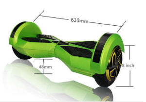 Gaoke Best 8 Inch Self Balancing Electric Scooter with Samsung Battery and UL Adapter pictures & photos