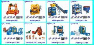 Great Quality Cement Brick Machine Qt40-2 Concrete Paver Machine pictures & photos