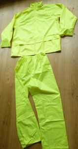Flu Lime Rainsuits with CE (DFRS16001) pictures & photos