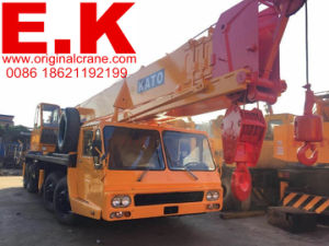 45ton Original Japanese Jib Crane Used Kato Mobile Cranes (NK450E) pictures & photos