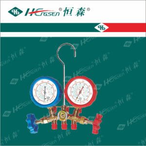 Experienced OEM Manufacturer of Manifold Gauge/ Auto Service Gauge/ Double Gauge Valve/ Charging Hose pictures & photos