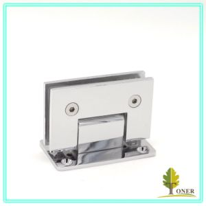 Straight Edge 90 Degree Shower Door Hinge/ Zinc Hinge pictures & photos