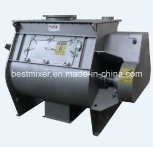 Non-Break for Material Single Shaft Paddle Mixer pictures & photos