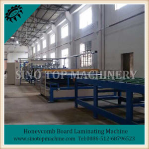 Paper Honeycomb Board Equipment / Honeycomb Paper Board Equipment pictures & photos