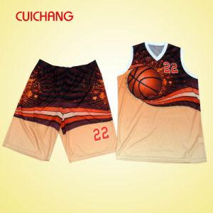 Basketball Uniform with Custom Design High Quality Hot Sell Dri Fit Basketball Uniforms