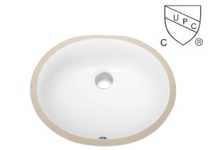 Cupc Under Counter Oval Ceramic Bathroom Sinks Sn-007 pictures & photos