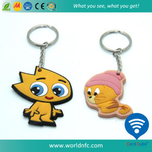PVC Low Frequency 125kHz Tk4100 RFID Keyfob pictures & photos