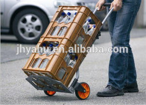 Cheap Hand Truck Plastic Wheel Garden Trolley From Yahu Hand Pallet Truck Suppliers From China (YH-HK014) pictures & photos