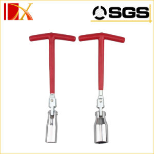 T Type Spark Plug Socket Wrench for Auto Repair pictures & photos