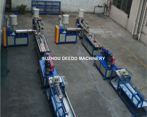 Plastic Extruding Machine for Making Semi Round LED Lampshade pictures & photos
