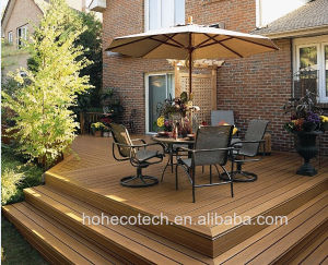 China High Quality Building Material Exterior Decking Wood Plastic Composite pictures & photos