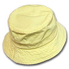 Custom Ladies Girls Formal Yellow Cap Hats pictures & photos