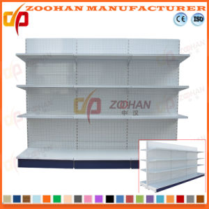 Sale Customized Supermarket Punched Back Retail Display Shelf (Zhs522) pictures & photos