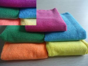 Ultra Absorbent Microfiber Cleaning Cloth pictures & photos