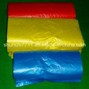 HDPE Color Flat Packaging Bag on Roll pictures & photos