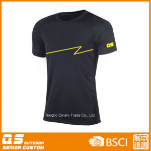 Men′s Sports Running Quick Dry Polyester T-Shirt pictures & photos