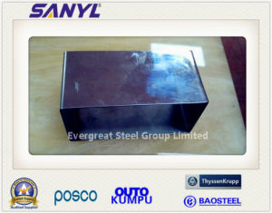 Welded Stainless Steel Square Pipe pictures & photos