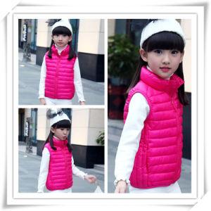 Uniq Fashion New Design Cute Wholesale Children Winter Warm Down Jacket Down Vest with High Quality 604