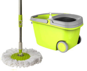 360 Spin Mop with Wheel New Type Cleaning Mop 1707sy pictures & photos
