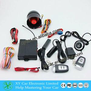Push Button Switch Car Alarm System Xy-906