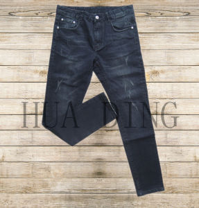 New High Quality Popular Casual Men′s Jeans in Black (HDMJ0044) pictures & photos