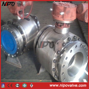 Forged Steel Flanged Trunnion Mounted Ball Valve pictures & photos