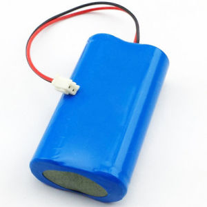 2600mAh 18650 7.4V Li-ion Lithium Rechargeable Batteries DIY Loudspeakers Bluetooth Powerbank Battery Packs pictures & photos