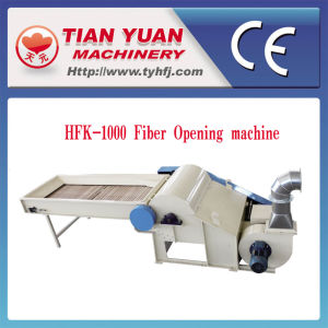 Textile Yarn Fabric Polyester Cotton Fiber Opening Machine pictures & photos