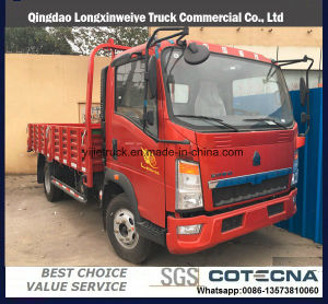 Sinotruk HOWO 4X2 130HP Light Cargo Truck pictures & photos