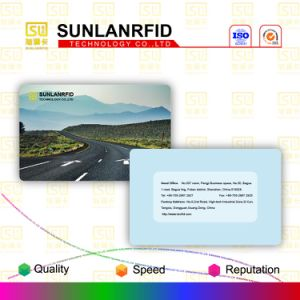 Plastic Scratch-off Membership Barcode Card with Magnetic Stripe pictures & photos
