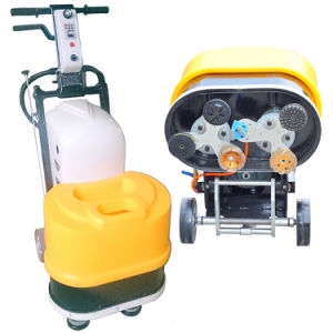 220V Concrete Floor Grinding Machine 6 Heads Marble Floor Polisher pictures & photos
