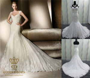 Real Sample Wedding Dress, /Bridal Gown Factory Wholesale pictures & photos