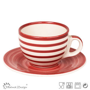Cearmic Unique Shape 3oz Cup and Saucer pictures & photos