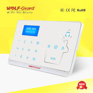 GSM PSTN Touch Keypad Alarm with Contact ID pictures & photos