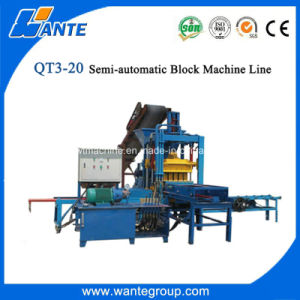 Wante Qt3-20 Paver Block Machine From Shandong Factory pictures & photos