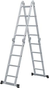 High Quality Multi-Purpose Ladder with 16 Steps pictures & photos