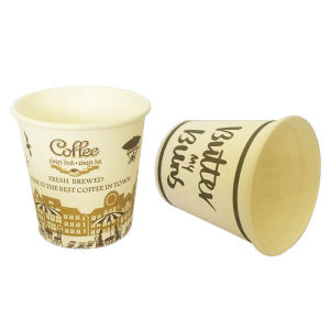 High Quality Hot Sale Disposable 4oz Coffee Paper Cups for Drink pictures & photos