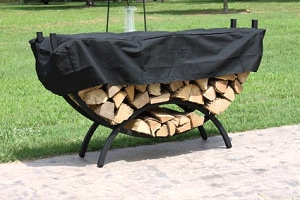 Half Round Shaped Firewood Log Holder pictures & photos