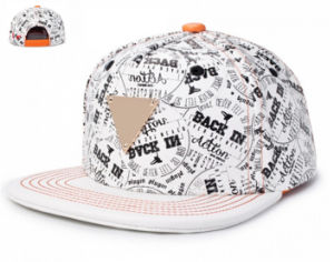 Snapback in Hmv X Crossover White Cap with DIY pictures & photos