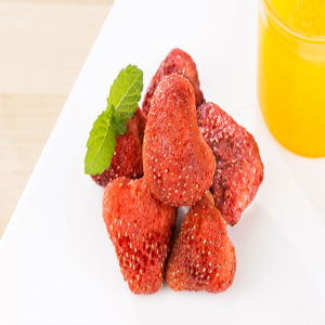 Crispy Freeze Dried Strawberry Chisp-Natural Fruit Snacks