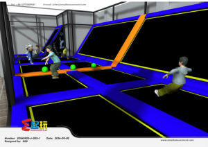 Combined Indoor Trampoline Park with Ce Certificate pictures & photos