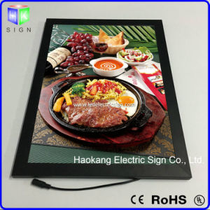 LED Aluminum Snap Picture Frame for Wall Menu Board Advertising Light Box pictures & photos