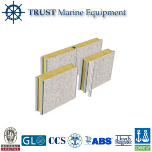 Marine Decorative Material Composite Rock Wool Acoustic Wall Panel pictures & photos