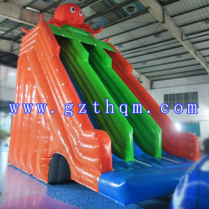 Octopus Inflatable Water Slides/Giant Inflatable Water Slide/Inflatable Slide with Pool pictures & photos