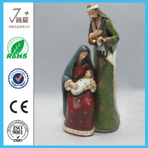 Polyresin Jesus Christmas for Home Decoration-Jn1503200 pictures & photos