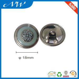 Customized Metal Button Alloy Button with Back Side Hook pictures & photos