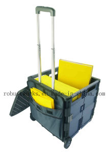 Multi Function Folding Cart with Lid and Pouch (FC405K) pictures & photos