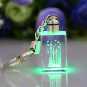 Exquisite Hot Sale with Different Color and Size Cheap Crystal Keychain pictures & photos