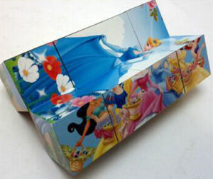 Newest Cartoon Folding Magic Cube pictures & photos