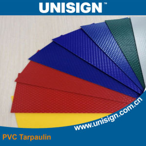 Waterproof PVC Coated Tarpaulin Fabric (650GSM) pictures & photos